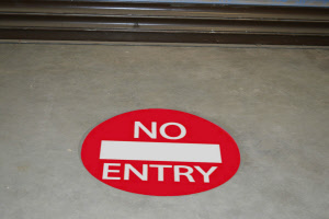 no-entry-access-inside