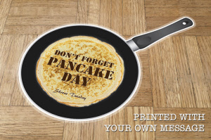 Pancake Day Floor Graphics / Stickers