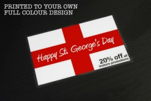 St Georges Day Floor Graphic